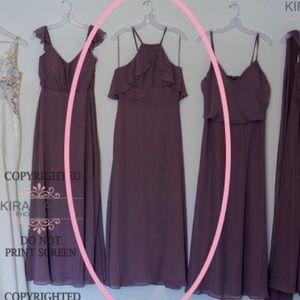 Birdy Grey Jules dress 'dark mauve'